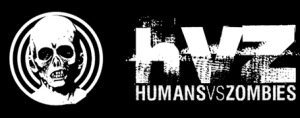 Logo from the Humans vs. Zombies Web site