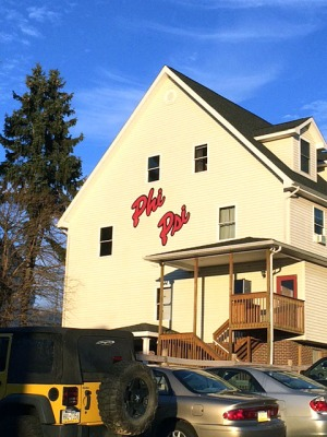 The Phi Kappa Psi fraternity house, 220 S. Seventh St., Indiana, Pa. Photo by Chris Hayes  Mason B. Varner, president, Phi Sigma Kappa fraternity, Indiana University of Pennsylvania, from his LinkedIn page