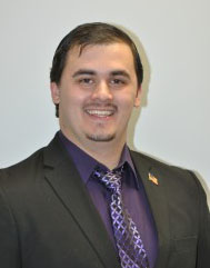 Indiana borough council member James P. Smith Jr., a student at Indiana University of Pennsylvania. Photo from the borough council's website.