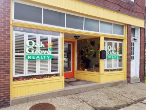 Oak Grove Realty office, 1128 Philadelphia St., Indiana, Pa. Photo by Logan Hullinger.