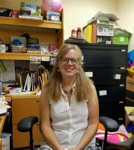 Melanie D. Hildebrandt, associate professor of sociology at IUP, in her McElhaney Hall office, Sept. 8, 2016.