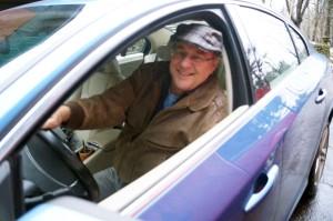 Uber driver Robert G. Bonnet, Indiana, Pa., Jan. 24, 2017. Photo by David Loomis.